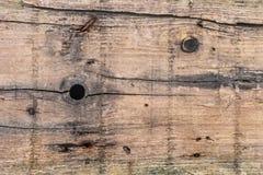 Stara Wietrzejąca Krakingowych Drewnianych desek Nawierzchniowa tekstura Fotografia Stock