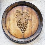 Stara wino beczka zdjęcia royalty free