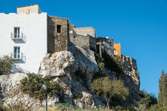 Stara wioska, Sardinia, Włochy Obraz Royalty Free