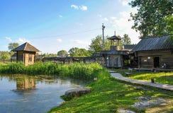 Stara wioska w Rosja, Suzdal Fotografia Stock