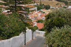 Stara wioski architektura, Alentejo, Portugalia obraz royalty free