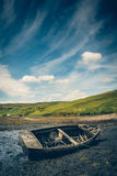 Stara wrak łódź Zdjęcie Stock
