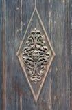 Stara wrotna dekoracja w Wenecja Obraz Royalty Free