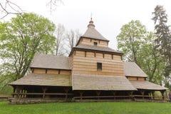 Stara wschodnia ortodoksyjnego kościół architektura w Poland w radruz od xvi wiek zdjęcie stock