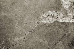 Stara Wygryziona Betonowa podłoga Zdjęcia Stock