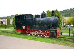 Stara wzorcowa lokomotywa, robić w Resita Fotografia Stock