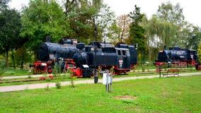 Stara wzorcowa lokomotywa, robić w Resita Obraz Royalty Free