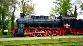 Stara wzorcowa lokomotywa, robić w Resita Zdjęcia Stock