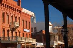 Stara Zachodnia architektura, Stary Sacramento Obrazy Royalty Free