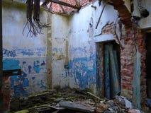 Stara zaniechana fabryka od komunistycznych czasów Fotografia Royalty Free