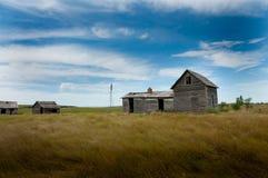Stara Zaniechana farma obrazy stock