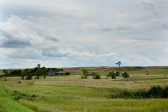 Stara Zaniechana farma zdjęcia stock