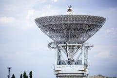Stara zaniechana radar baza zdjęcie stock