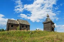 Stara zaniechana Rosyjska wioska Fotografia Stock