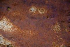 stara zardzewiała struktura metalowa Grunge tło Obrazy Stock
