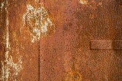 stara zardzewiała struktura metalowa Zdjęcia Royalty Free