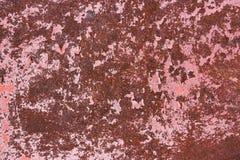 stara zardzewiała struktura metalowa ilustracyjny lelui czerwieni stylu rocznik Zdjęcia Stock