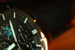 Stara zegarek scena Fotografia Stock