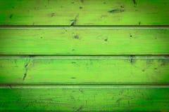 Stara zielona drewniana tekstura z naturalnymi wzorami Zdjęcie Stock