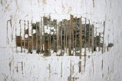 stara zniszczyłeś tekstury ściany Zdjęcia Royalty Free