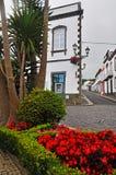 Staranne ulicy na wyspie San Miguel Obrazy Royalty Free