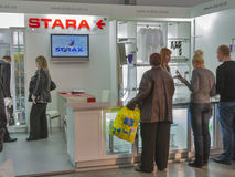 Starax furniture accessories company booth Stock Photos
