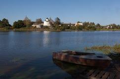 Staraya拉多加堡垒 俄国 库存图片