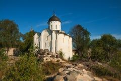 Staraya de Kerk van Ladoga, St George Royalty-vrije Stock Afbeelding