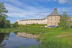 Staraya Ladoga fortress Royalty Free Stock Photos