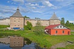 Staraya Ladoga fortress Stock Photo