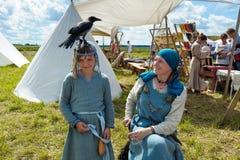 Historic viking festival Stock Images
