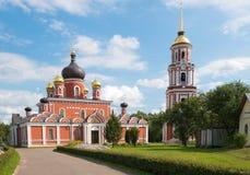Staraya Russa. Church of the Resurrection Stock Photo