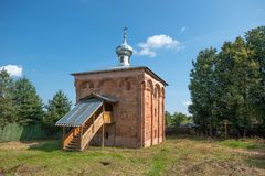 Staraya Russa. Church of the St Mina Stock Photography