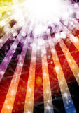 Starbeams celebrations Royalty Free Stock Photography