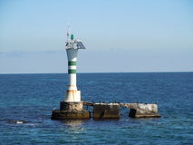 Starboard light beacon Royalty Free Stock Photos