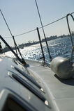 Starboard On Sailboat Royalty Free Stock Photo