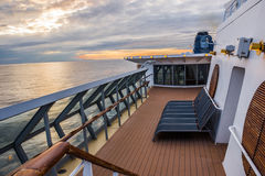 Starboard Sunset Stock Image