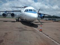 Starbow flygplan Royaltyfri Foto