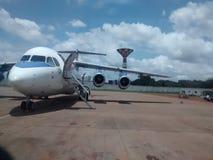 Starbowvliegtuig royalty-vrije stock afbeelding