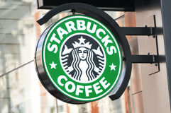 Starbucks Royalty Free Stock Photography