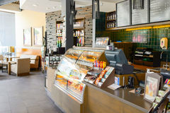 Starbucks-Café Stockbilder