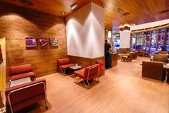 Starbucks cafe interior Royalty Free Stock Photography