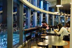 Starbucks cafe interior Stock Photo