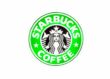 Starbucks coffee brand Stock Image