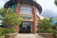 Starbucks Coffee at The Crystal PTT shopping mall Royalty Free Stock Images