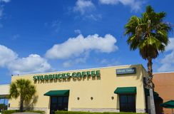Starbucks Coffee Drive Thru Royalty Free Stock Photo