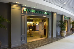 Starbucks coffee exteriors Royalty Free Stock Photography