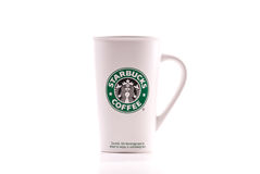 Starbucks Coffee Mug Royalty Free Stock Photography