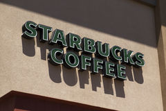 Starbucks Coffee retail store Royalty Free Stock Photos