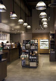 Starbucks coffee shop Arkivfoton